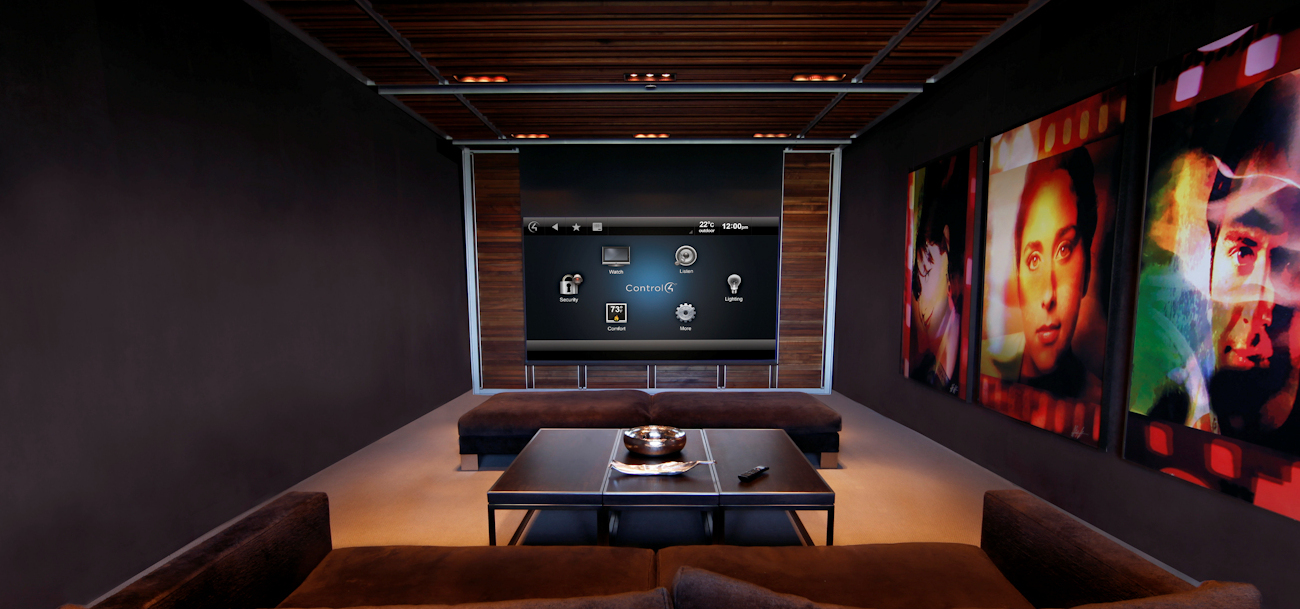 Control4 Home Theater System Houston, TX