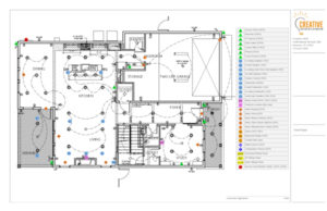 Houston Home Automation Floor Plans